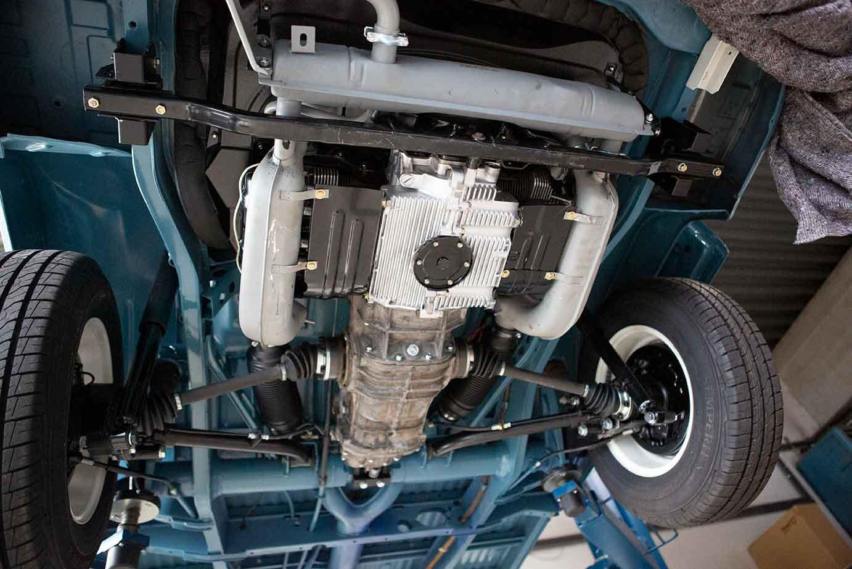 Schmuckstück: Der neu aufgebaute 1,6l Typ1 Motor unseres VW Bus T2 Toni