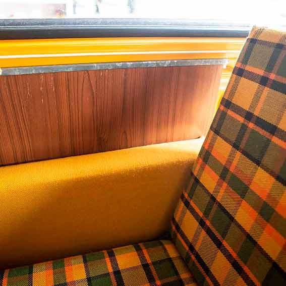 Seitenverkleidung Liegefläche VW Bus T2 Westfalia