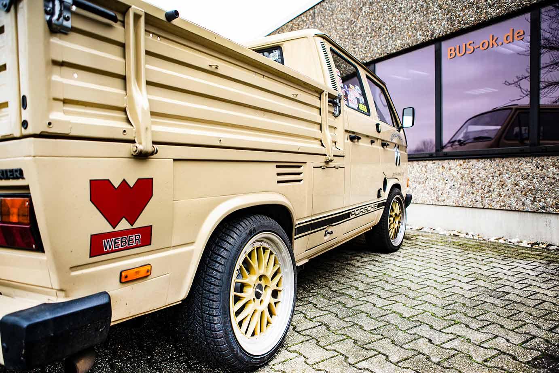 Vw Bus T3 Mit 4 2l V8 Motor Und 320ps Blog Bus Ok De