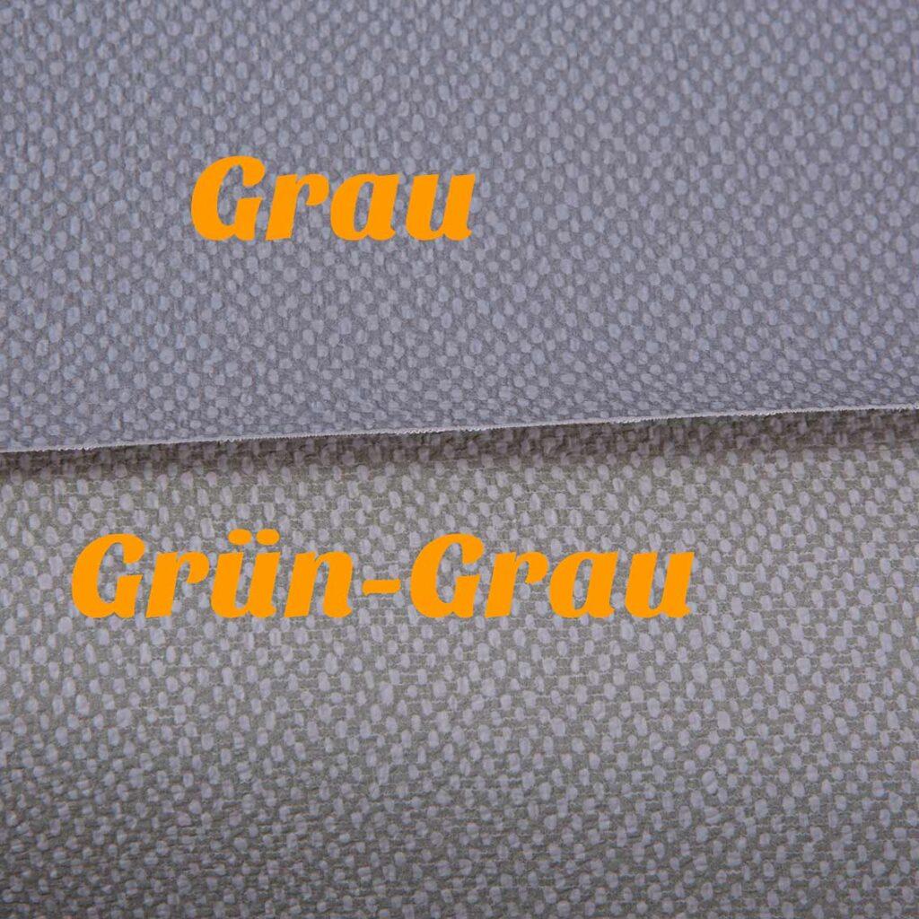 Das Verkleidungsmaterial in Grau und Grün-Grau ist ab sofort im Shop