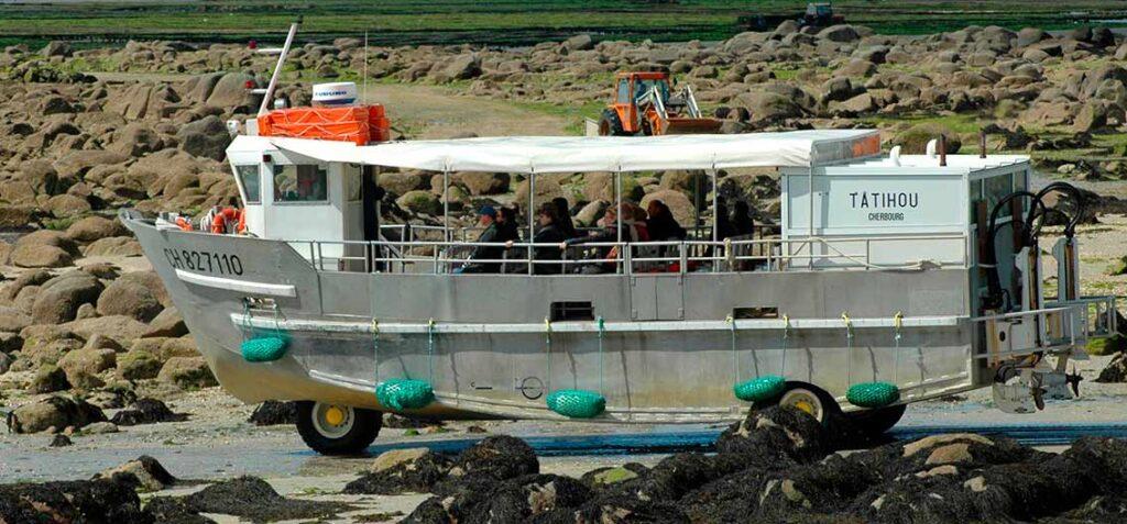 Abenteuer für alle: Mit dem Amphibienboot zur Insel Tatihou