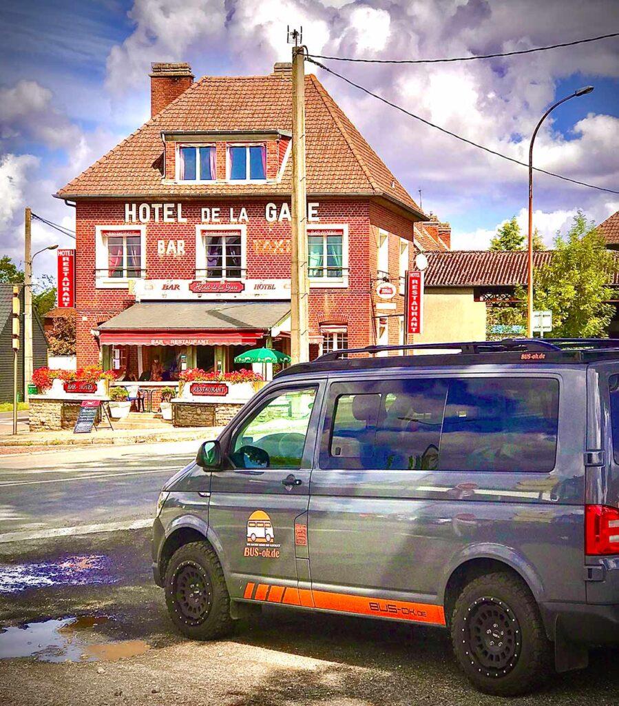 Hotel Restaurant de la Gare in Aumale