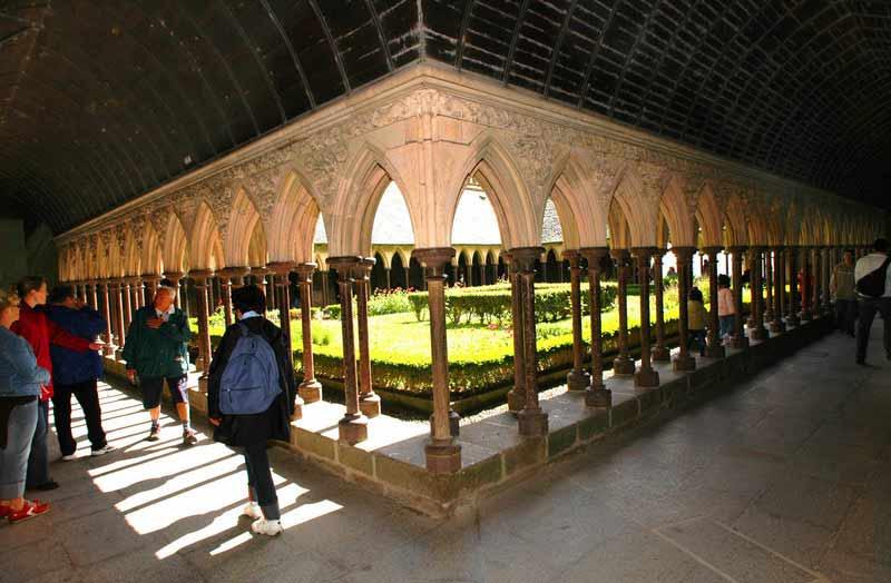 Der Kreuzgang im Kloster