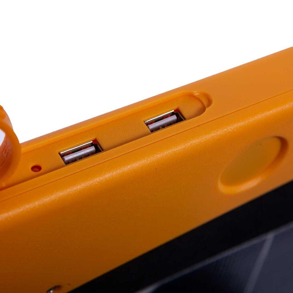 USB1 und USB2 Anschlüsse serienmäßig