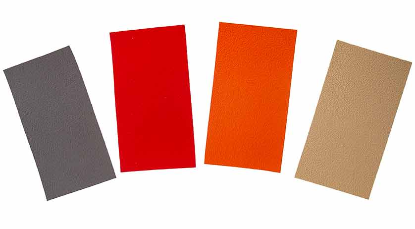 Alle Farben mit zwei Dachfarben ergeben 8 Kombinationen