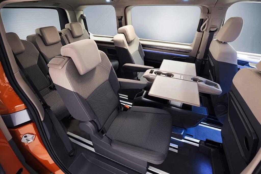Eher Lounge denn Bus, so sieht der Neue aus. Foto: VW Nutzfahrzeuge