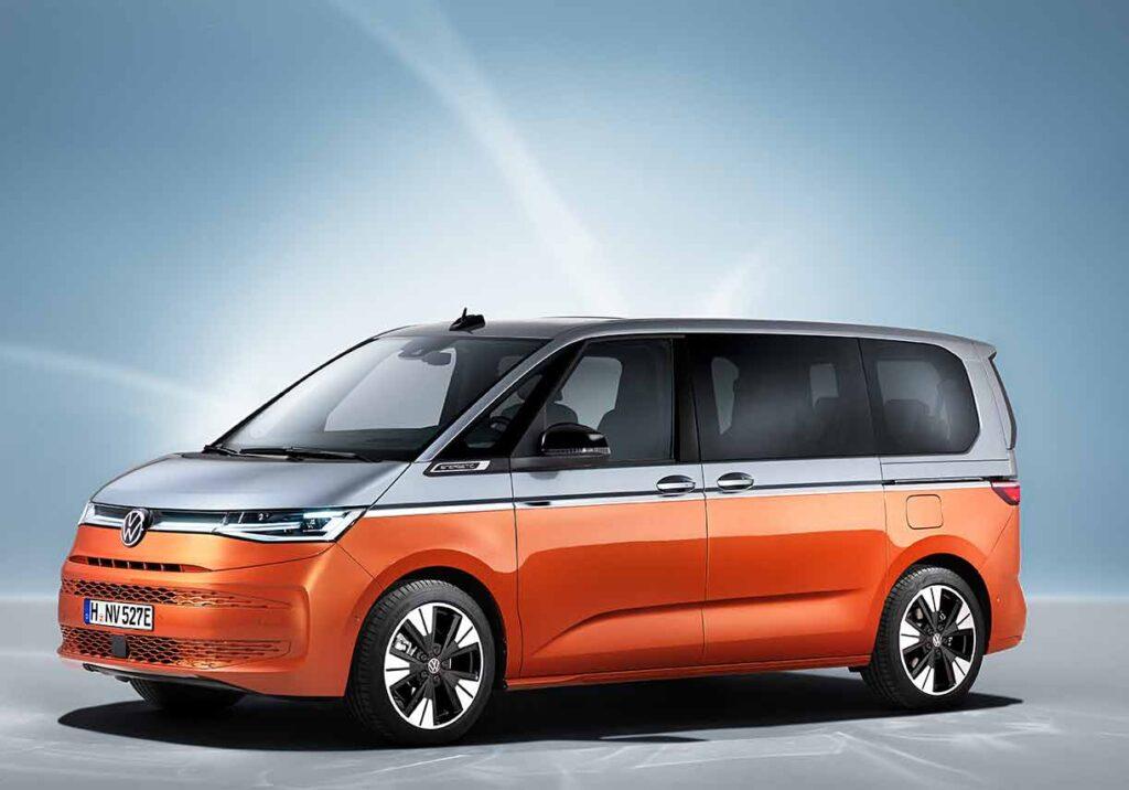 Immer mit zwei Schiebetüren: Der neue T7 Multivan. Foto:VW Nutzfahrzeuge