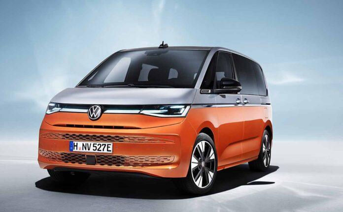Bullige Erscheinung: Der neue VW T7 Multivan. Foto: VW Nutzfahrzeuge